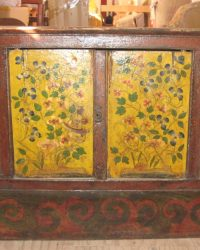 Yellow Floral Yongam Cabinet