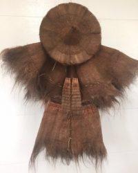19th Century Farmer's Raincoat and Hat (Suo Yi)
