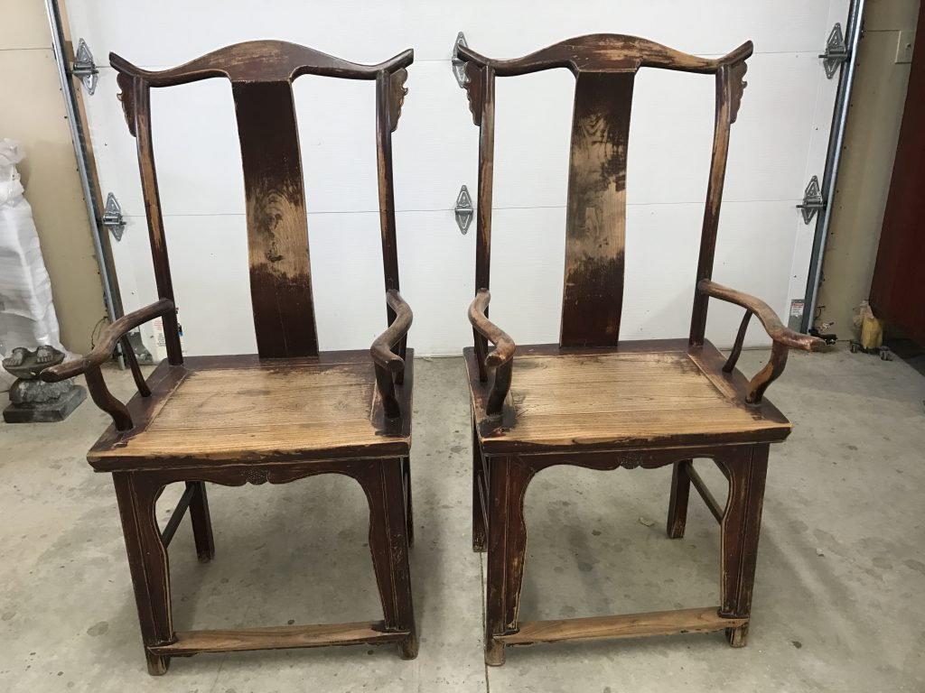 Pair of Shandong Arm Chairs