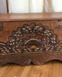 Carved Indonesian Chest
