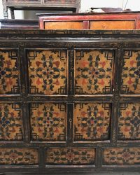 Mid Century Tibetan Cabinet