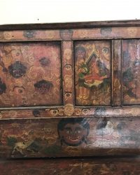 Small Tibetan Ghost Cabinet