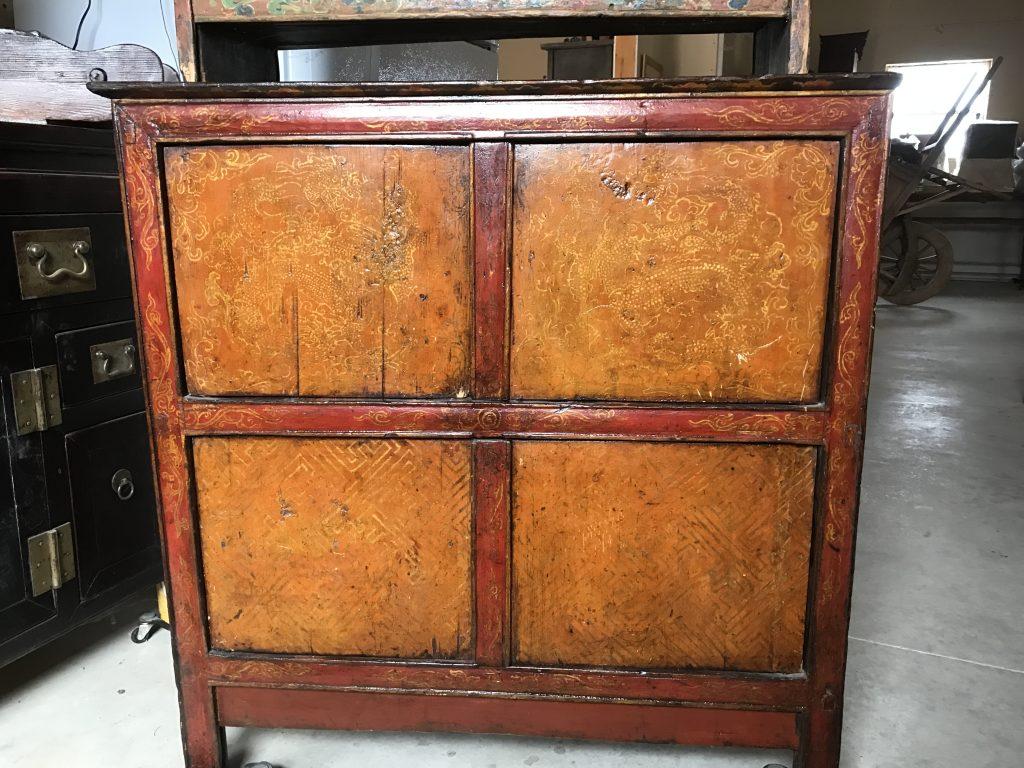 Nineteenth Century Tibetan Cabinet