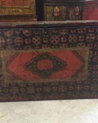 Mid Nineteenth Century Tibetan Trunk