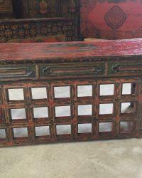 Folding Tibetan Prayer Table
