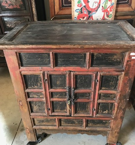 Early 19th Century Buddha Cabinet