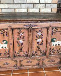 Tibetan Snow Lions Cabinet
